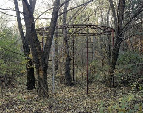 'Thanh pho ma' Pripyat hoang tan hon 30 nam sau tham hoa Chernobyl hinh anh 9