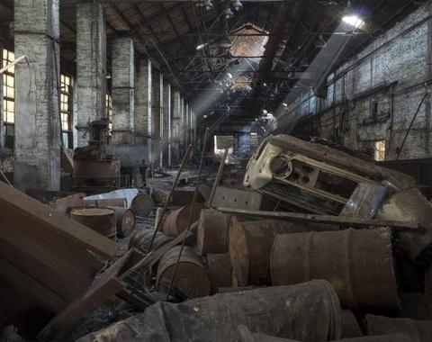 'Thanh pho ma' Pripyat hoang tan hon 30 nam sau tham hoa Chernobyl hinh anh 7