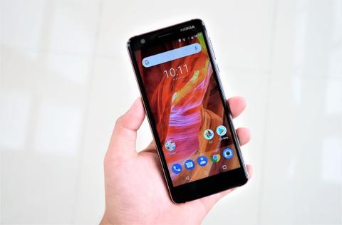 Trai nghiem Nokia 3.1 hinh anh