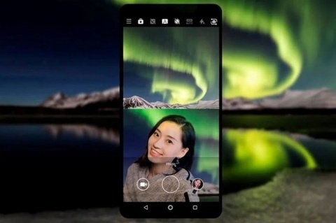 Lo dien hinh anh quang cao cua Nokia X7 hinh anh