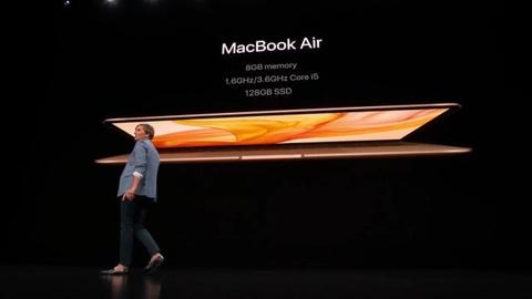 Xem nhanh man ra mat MacBook Air, iPad Pro moi cua Apple hinh anh