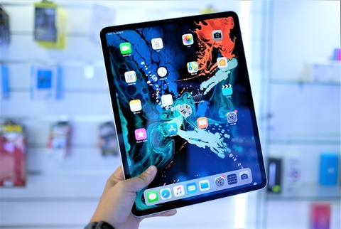 iPad Pro 2018 phien ban 12,9 inch ve VN gia 33,2 trieu dong hinh anh