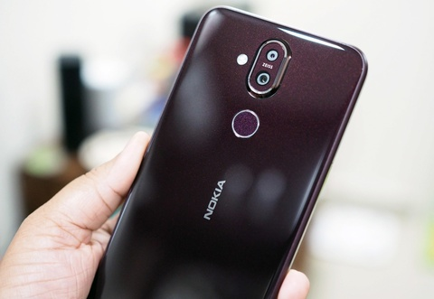 Nokia 8.1 ra mat - ban quoc te cua chiec X7, gia 450 USD hinh anh
