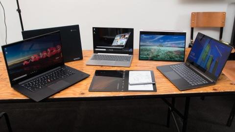 Nhung mau laptop noi bat nhat trong nam 2018 hinh anh