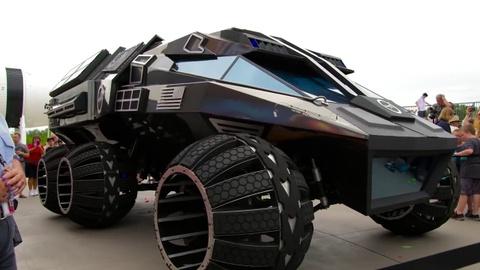 Xe tham hiem sao Hoa Mars Rover cua NASA hinh anh