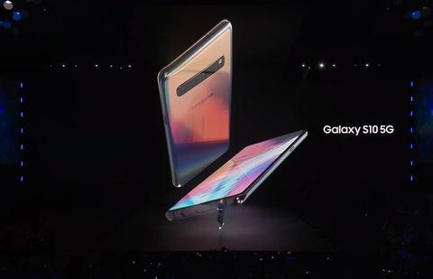 Xem nhanh man ra mat Galaxy S10 va Galaxy Fold trong 3 phut hinh anh