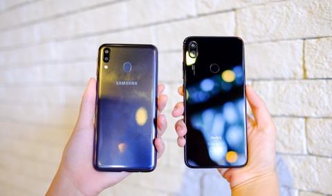 Galaxy M20 do dang Redmi Note 7 - ky phung dich thu tam 5 trieu dong hinh anh 11