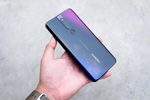 Chi tiet Oppo F11 Pro camera 48 MP, VOOC 3.0 sap ra mat o VN hinh anh 1
