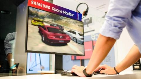 Samsung ra Space o VN: Man hinh xep toi gian, tiet kiem 40% khong gian hinh anh 3