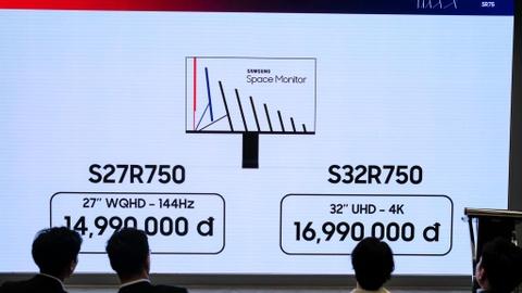 Samsung ra Space o VN: Man hinh xep toi gian, tiet kiem 40% khong gian hinh anh 1