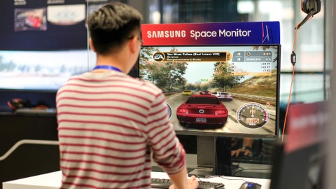 Samsung ra Space o VN: Man hinh xep toi gian, tiet kiem 40% khong gian hinh anh 2