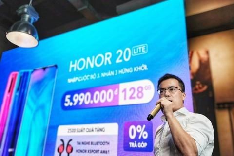 Honor 20 Lite ra mat tai VN - camera selfie 32 MP, gia 6 trieu dong hinh anh 10