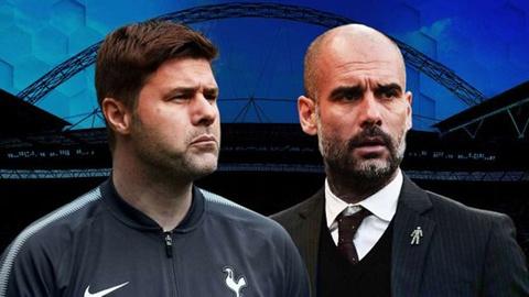 HLV Guardiola danh gia cao doi thu truoc tran Man City va Tottenham hinh anh