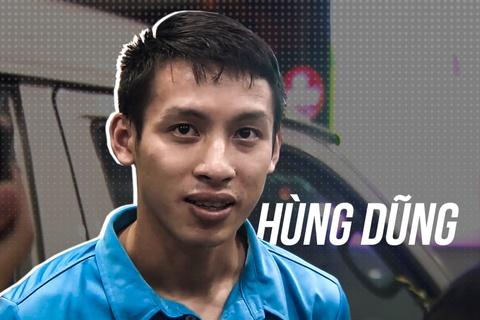 Do Hung Dung - cau thu co che do tap luyen duoc vi voi Ronaldo hinh anh