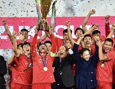 Viet Nam vo dich AFF Cup 2018 lot nhom su kien tieu bieu 2018 hinh anh
