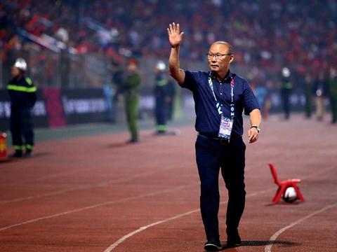 HLV Park được kỳ vọng tiếp tục dẫn dắt đội tuyển Việt Nam. Ảnh: Thuận Thắng.