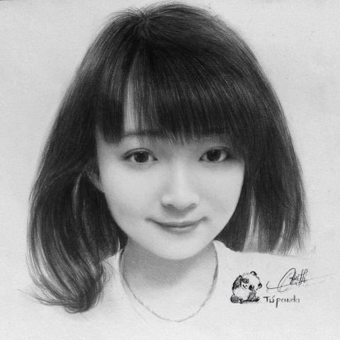 9X Lai Chau ve tranh chan dung song dong nhu that hinh anh 2