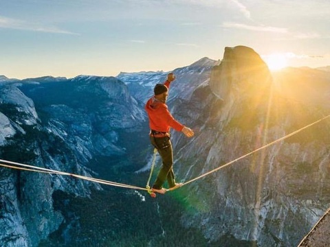Ryan tai Vuon quoc gia Yosemite hinh anh