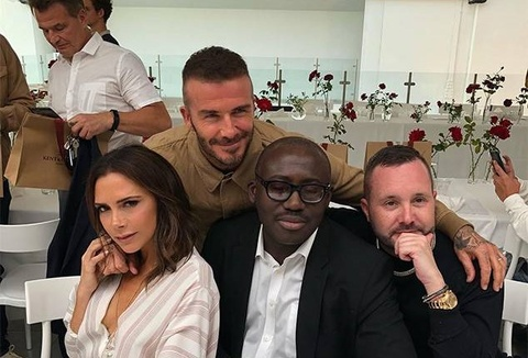 Vo chong David Beckham than mat sau tin don ly hon hinh anh