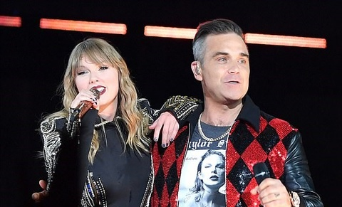 Angels - Taylor Swift ft Robbie Williams hinh anh