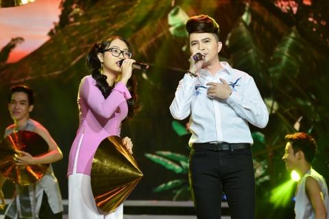 Dan sao Vpop xuat hien trong live show 10 nam ca hat cua Nam Cuong hinh anh
