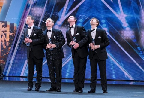 Human Fountains - America's Got Talent hinh anh