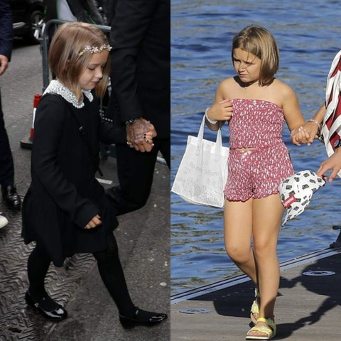 Phong cach thoi trang cua Harper Beckham thay doi the nao? hinh anh 8