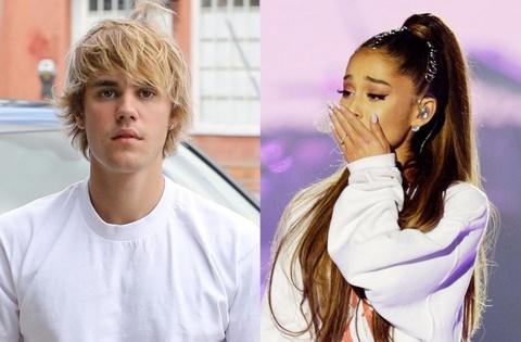 Eminem 'dung cham' Justin Bieber va Ariana Grande trong ca khuc moi hinh anh