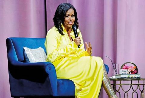 Ba Michelle Obama mac dam ruc ro, noi bat nhat tuan hinh anh