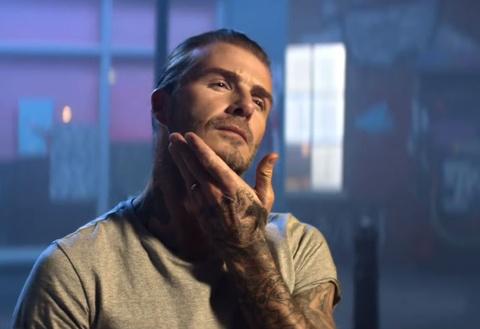 David Beckham tung thuong hieu my pham rieng hinh anh