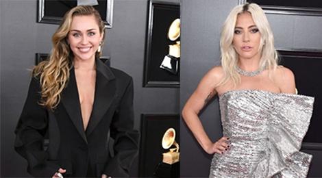 BTS, Miley Cyrus, Lady Gaga va dan sao dinh dam do bo tham do Grammy hinh anh