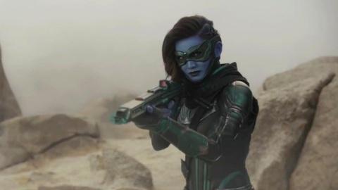 Nhan sac nguoi dep goc A doi dau 'Captain Marvel' Brie Larson hinh anh 1