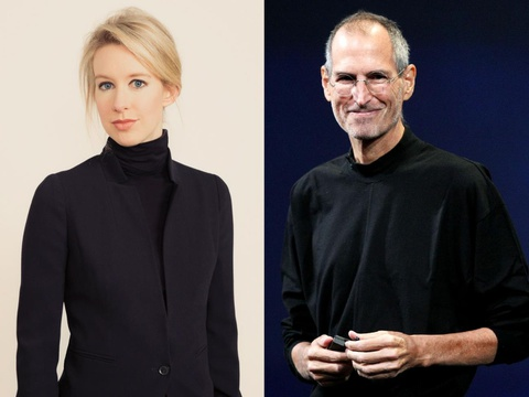 Elizabeth Holmes - ty phu lua dao voi gu thoi trang giong Steve Jobs hinh anh 2