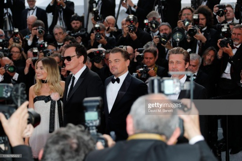 Brad Pitt, Leonardo DiCaprio hut ong kinh khi xuat hien tai Cannes hinh anh 2