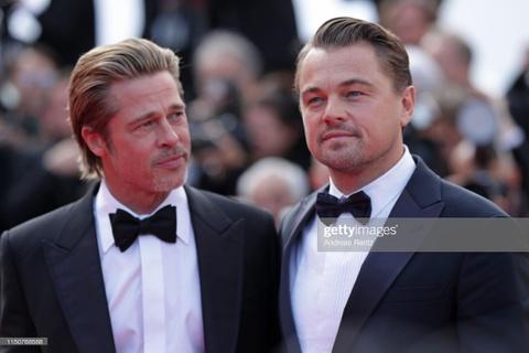 Brad Pitt, Leonardo DiCaprio hut ong kinh khi xuat hien tai Cannes hinh anh 1