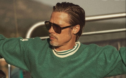 Ve phong tran cua tai tu Brad Pitt o tuoi 56 hinh anh