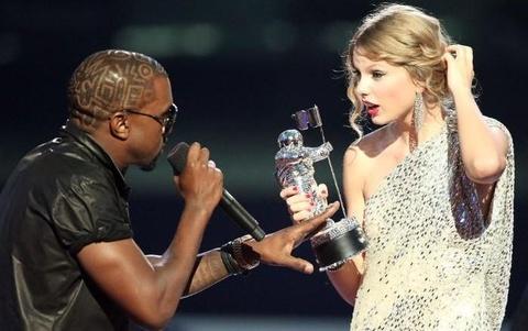 Taylor Swift goi chong Kim Kardashian la ke hai mat hinh anh