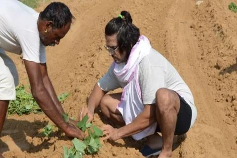 Nghệ sĩ Ấn Độ về quê chăn bò, bán rau vì dịch bệnh