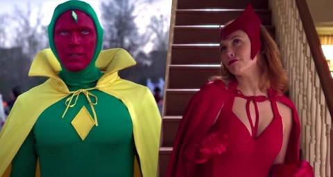 Tao hinh cua Scarlet Witch va Vision trong phim moi he lo dieu gi? hinh anh