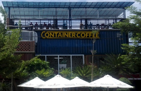 ca phe container hinh anh