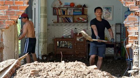 Tim tai san o dong hoang tan sau vu vo ho lam 4 nguoi chet o Nha Trang hinh anh