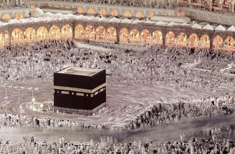 kaaba cua mecca hinh anh