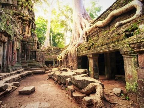 Ha Noi vao top nhung diem den dang mo uoc nam 2016 hinh anh 8 Siem Reap, Cambodia: Lonely Planet đánh giá Angkor Wat là điểm đến tuyệt nhất thế giới năm 2014. Quần thể kiến trúc cổ có quy mô khổng lồ này nằm sâu trong rừng của Siem Reap, với đầy đủ kênh đào, đền miều, hầm mộ, cung điện.