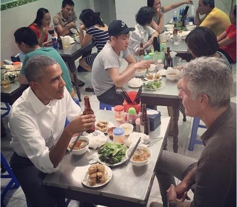 Nhung mon an Viet khien dau bep tiep don Obama me man hinh anh 9