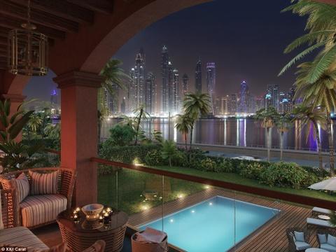 Bon tam trieu do trong biet thu cho nha giau o Dubai hinh anh 11