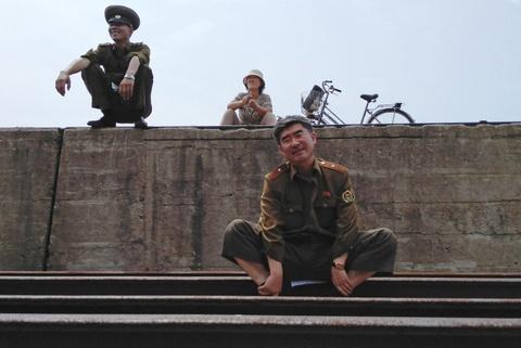 Cuoc song khon kho o vung nong thon Trieu Tien hinh anh