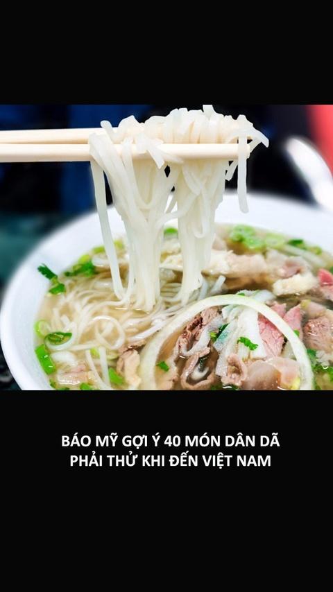 Bao My goi y 40 mon dan da phai thu khi den Viet Nam hinh anh
