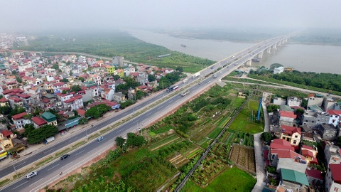 Toan canh quoc lo Ha Noi - Bac Giang vua khanh thanh hinh anh 1