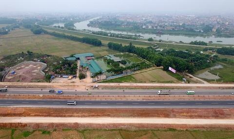 Toan canh quoc lo Ha Noi - Bac Giang vua khanh thanh hinh anh 9