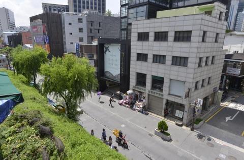 Khu pho di bo hut khach du lich o Seoul hinh anh 2